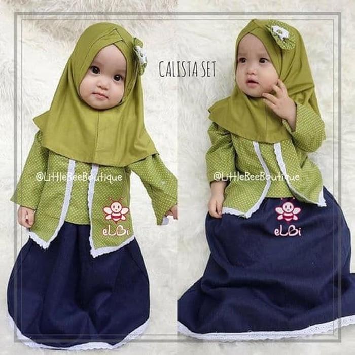 Jual Baju Muslim Anak Cewek I Kebaya Muslim Anak Simple I Calista Kota Surabaya Anak Muslim 99 Tokopedia