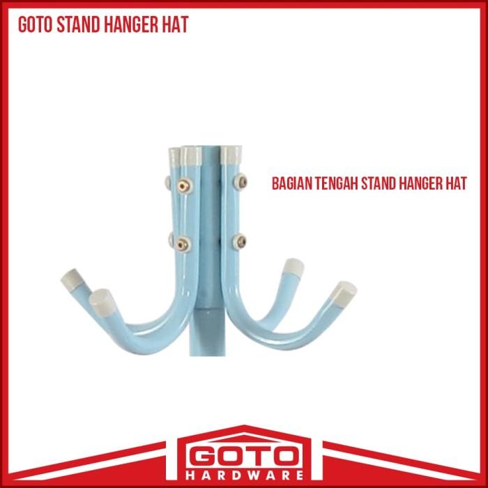 Gambar Produk Rinci Gantungan Baju Standing Hanger Multifunction Stand  Hanger Hitam Terkini. Source · Produk dari Brand Resmi 06c7b68956
