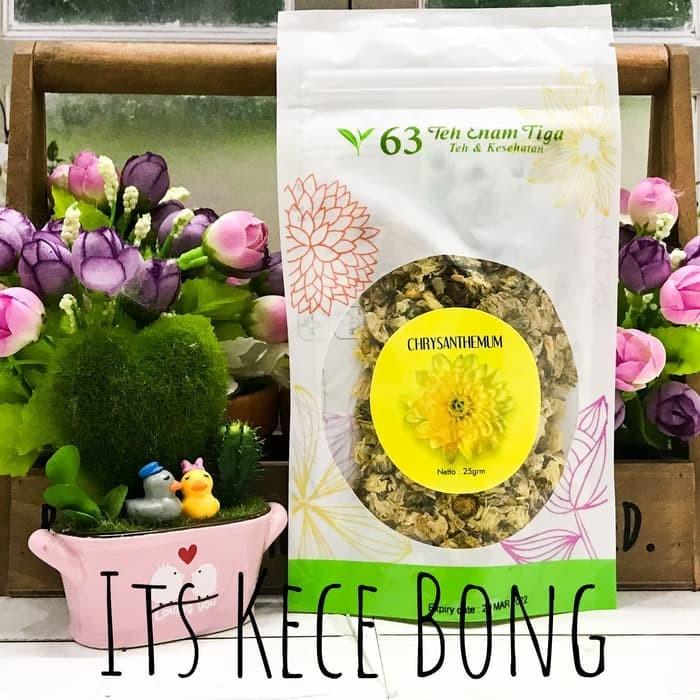 Terbaik Teh 63 - Chrysanthemum Tea 25gr / Teh Krisantemum