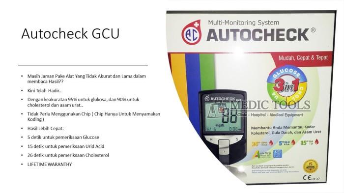 Alat Cek Gula Darah Autocheck GCU