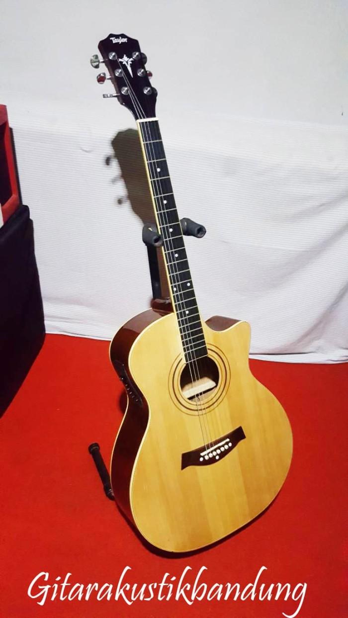harga Gitar akustik murah bandung elektrik taylor bagus pisan Tokopedia.com