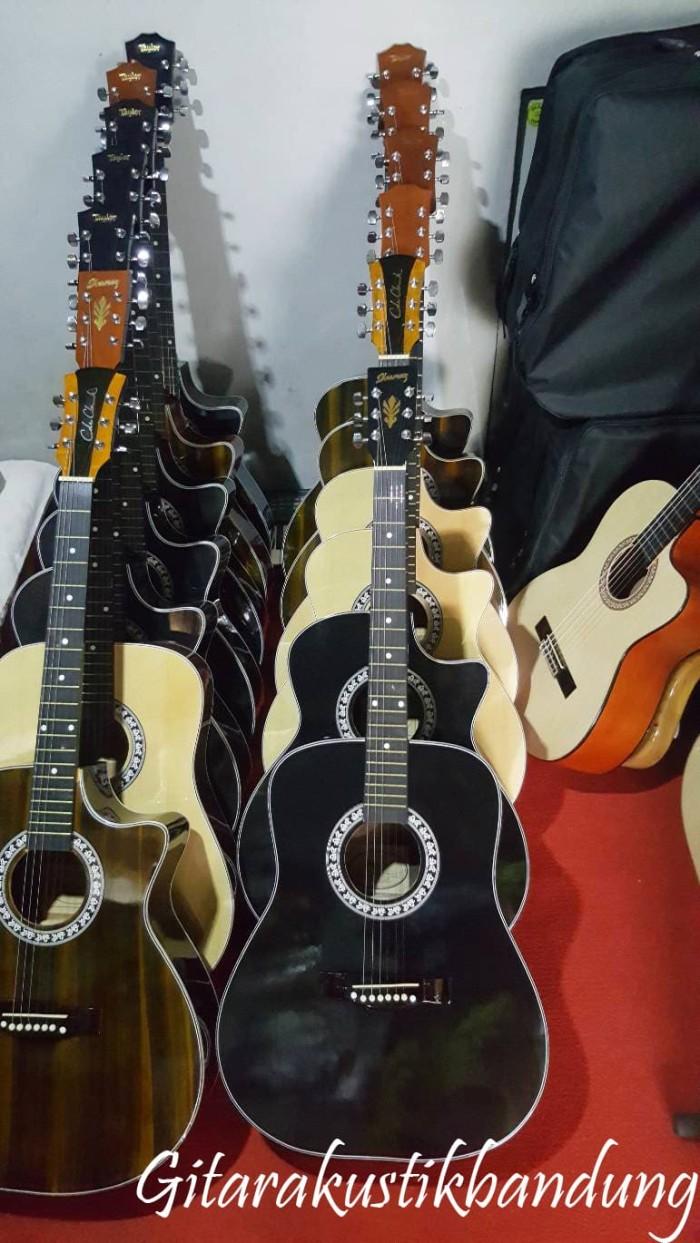 harga Gitar akustik jumbo murah bandung bisa gosend aman sampai tujuan Tokopedia.com