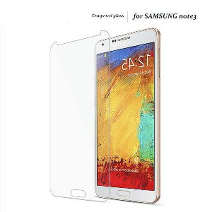 NEWCASE Tempered Glass Samsung Galaxy Note 3 N9000 - Anti Gores Kaca A