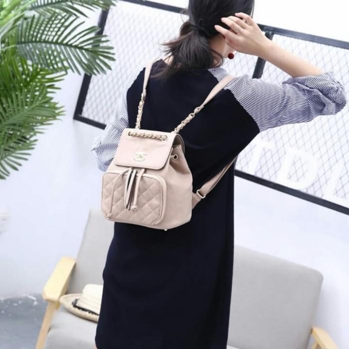 feb836d70720 Jual Ransel Chanel Business Affinity Backpack 572# - yeni75   Tokopedia