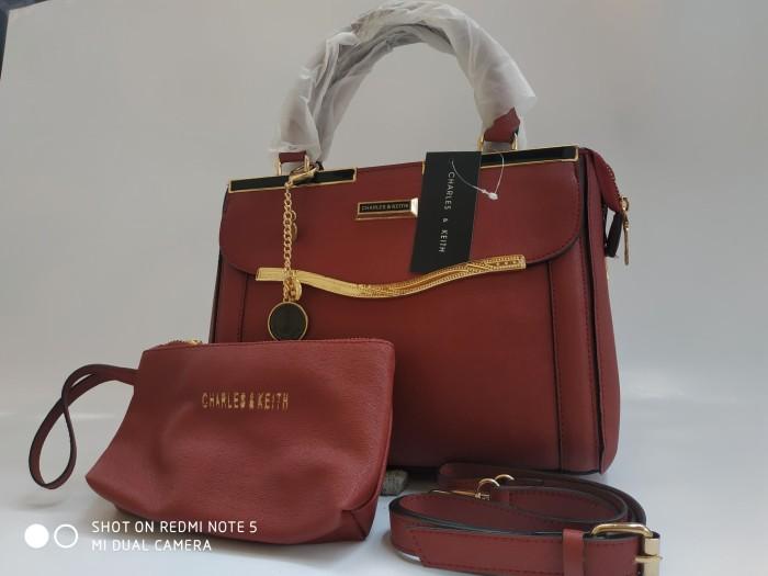 harga Tas wanita tas import tas branded korea hongkong batam murah 079  maron Tokopedia.com c238d12945