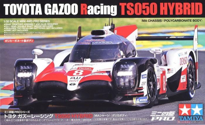 Toyota Gazoo Racing TS050 Hybrid Ma Chassis Pro Mini 4wd Model TAMIYA