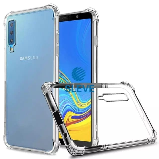 Foto Produk Case Anti Crack Samsung A7 2018 Triple Camera - Bening dari factory acc