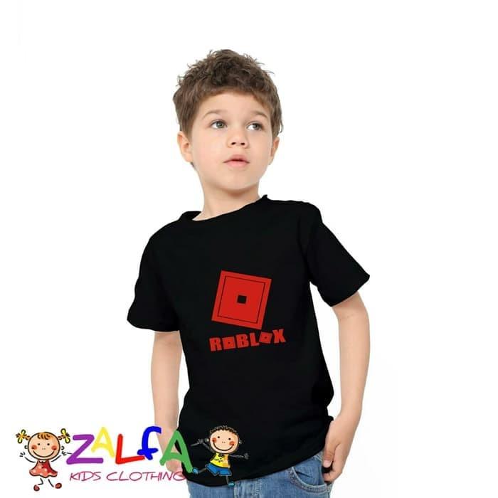 Foto Produk Tshirt Kaos Baju Anak Anak Roblox New Logo - Zalfa Kids dari ZALFA KIDS CLOTHING