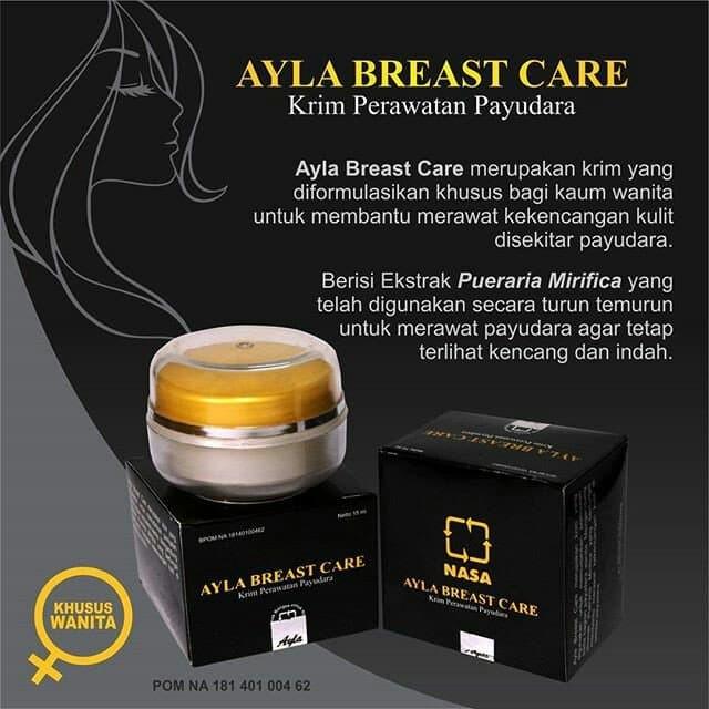 cream ayla breast care/cream perawatan payudara ORIGINAL NASA