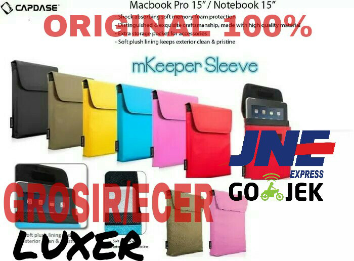 harga Tas capdase 15 sleeve mkeeper case macbook pro retina notebook asus hp Tokopedia.com