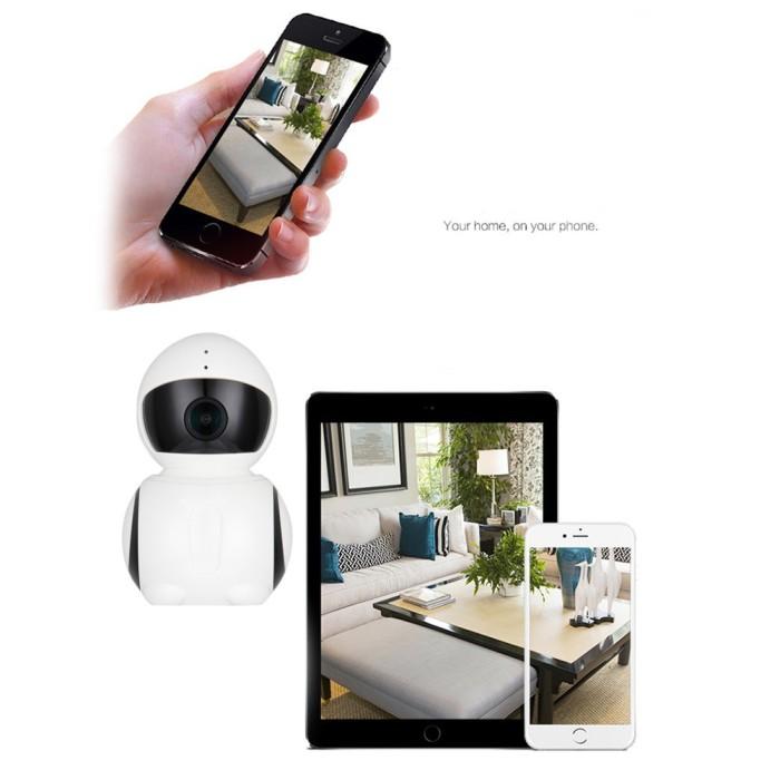 Kamera Cctv Mini Wifi Ip 1080P Dengan Night Vision Untuk Rumah/Kantor