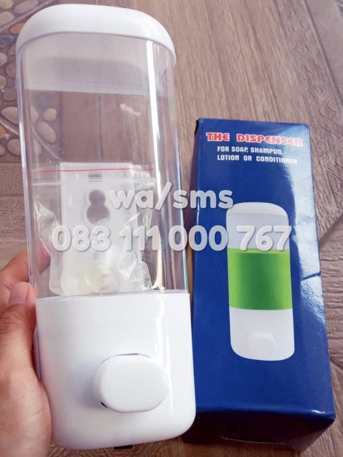 harga Dispenser sabun cair manual tempat cairan cuci tangan kamar mandi Tokopedia.com