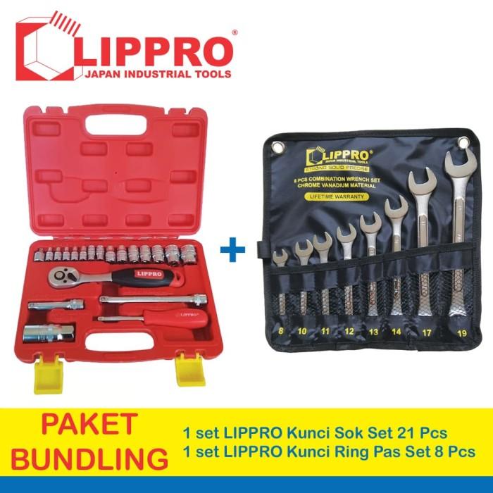 ... harga bundling lippro kunci sok set 21 pc & lippro kunci ring pas set
