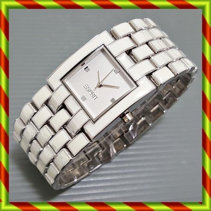 New Esprit Tikar Silver / jam tangan dkny daniel wellington rolex