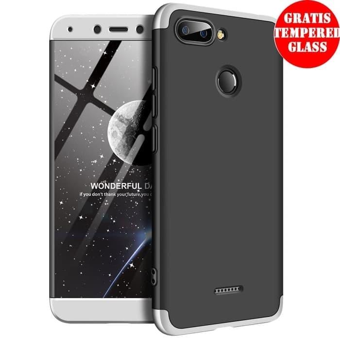 low priced ef90e d5772 Jual Xiaomi Redmi 6 360 Hard Case Depan Belakang Full Body Casing Kombinasi  - DKI Jakarta - General Acc | Tokopedia