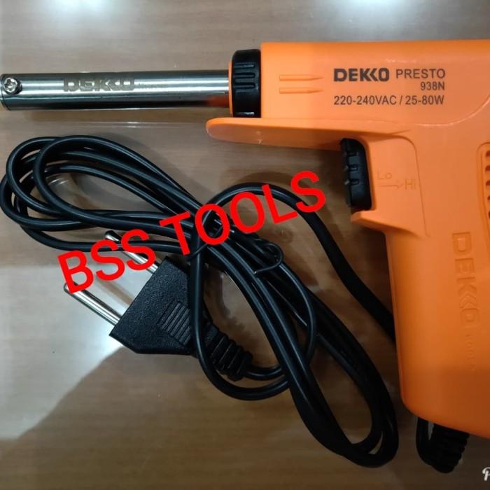 Solder Listrik Model Tembak / Gun 25W - 80W 938N Deko / Dekko