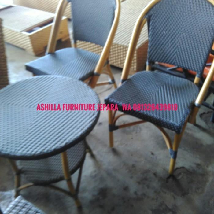 Jual Meja Kursi Rotan Sintetis Kab Jepara Ashilla Furniture Jepara Tokopedia