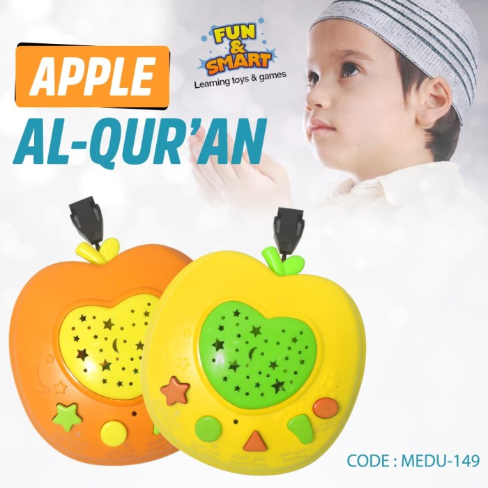 Apple Learning Holy Quran Machine Murah (APEL AL QURAN - APPLE QURAN)