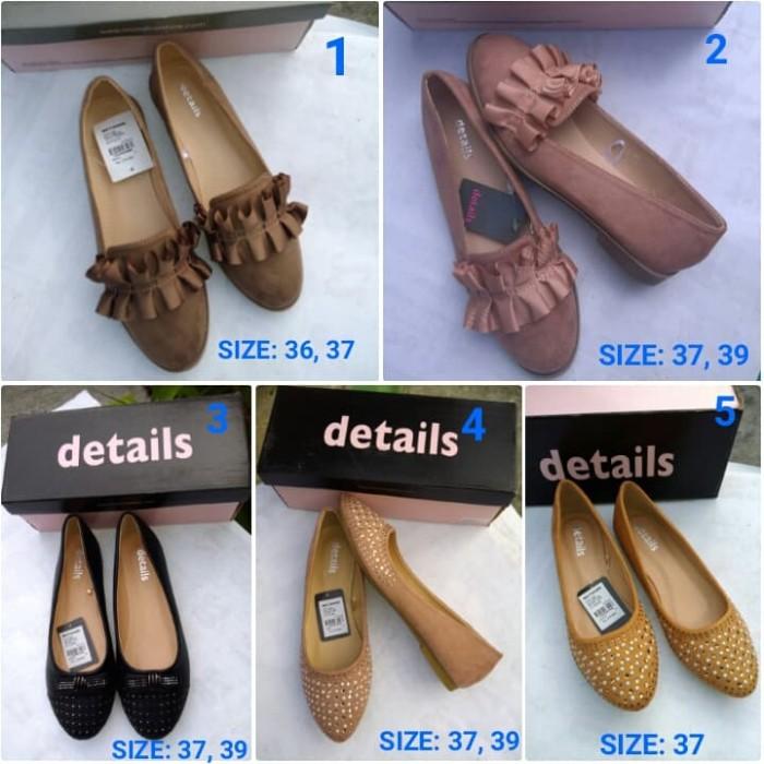 harga Sepatu flat shoes wanita branded original details   sepatu flat nevada  Tokopedia.com f00e93c078