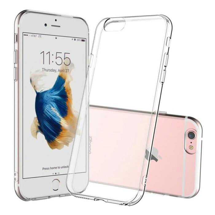 online retailer 79e81 27f24 Jual case bening iPhone 6 6s plus clear case iPhone - Jakarta Pusat - Black  Coffee | Tokopedia