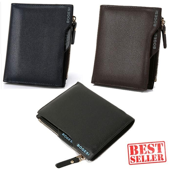 Bogesi Dompet Pria Branded Kulit Model Terbaru PU Leather Men s Wallet 6912b6c79f