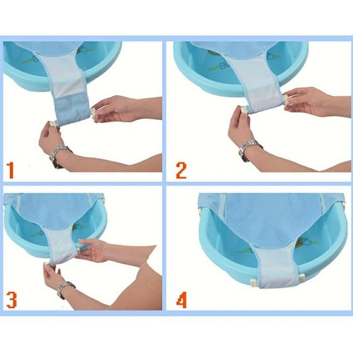 Infant Baby Bath Helper / Alat Bantu Mandi Memandikan Bayi Jaring