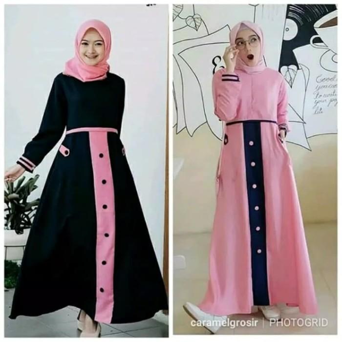 Jual Baju Gamis Wanita Terbaru Tya Dress Muslim Remaja Kekinian