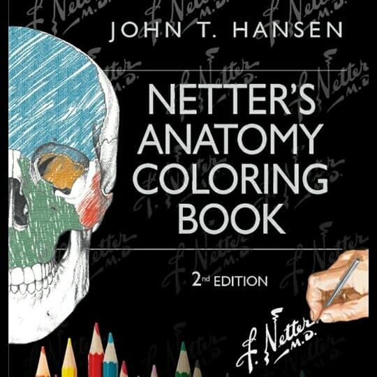 Jual Buku Netter S Anatomy Coloring Book 2nd Edition John T Hansen 2 Jakarta Barat Larisbookgrosir Tokopedia