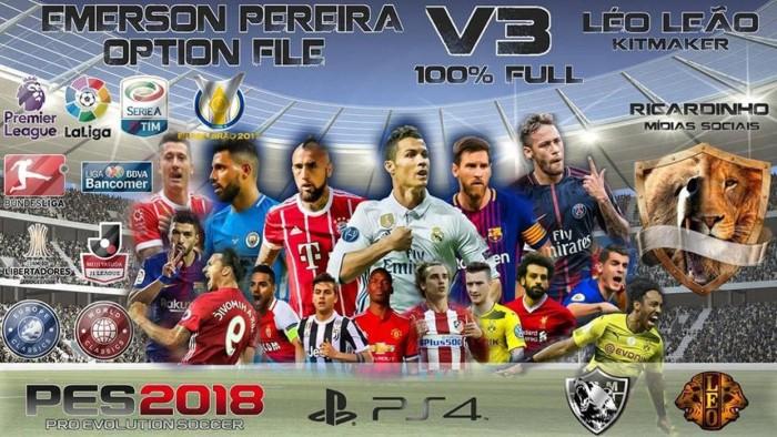 Jual PES 2018 PS4 Option File Full V4 new Season - DKI Jakarta -  saptaanugrahshop | Tokopedia