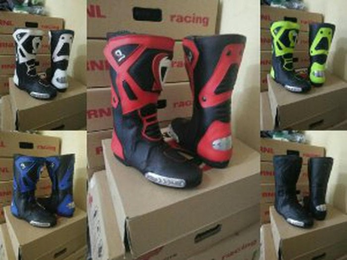 Jual STOK TERBARU sepatu boots balap roadrace dln not alpinestar ... 1550576d9c