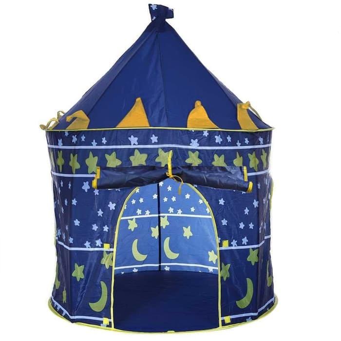 Tenda Camping Anak Bermain Model Castle Kids Portable Tent Kemah kema