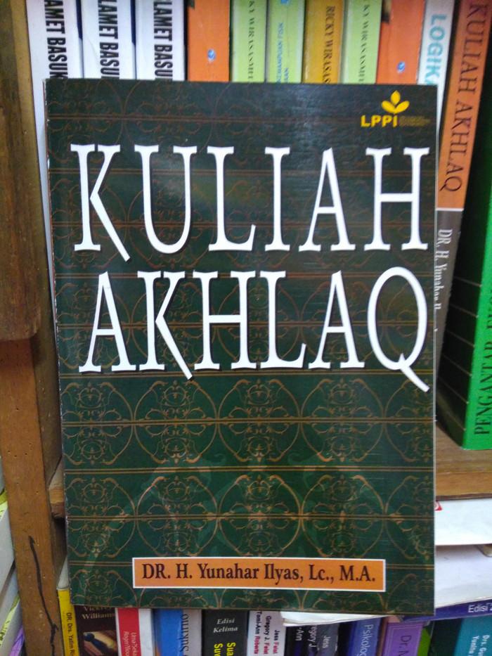harga Kuliah akhlak by dr yunahar ilyas Tokopedia.com