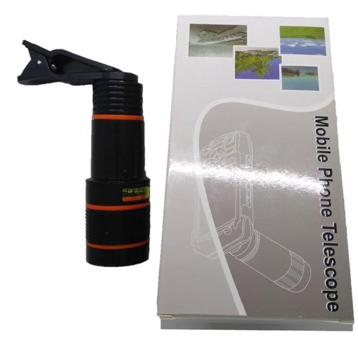 harga Lensa kamera teropong hp mobile phone telescope lens 8x zoom Tokopedia.com