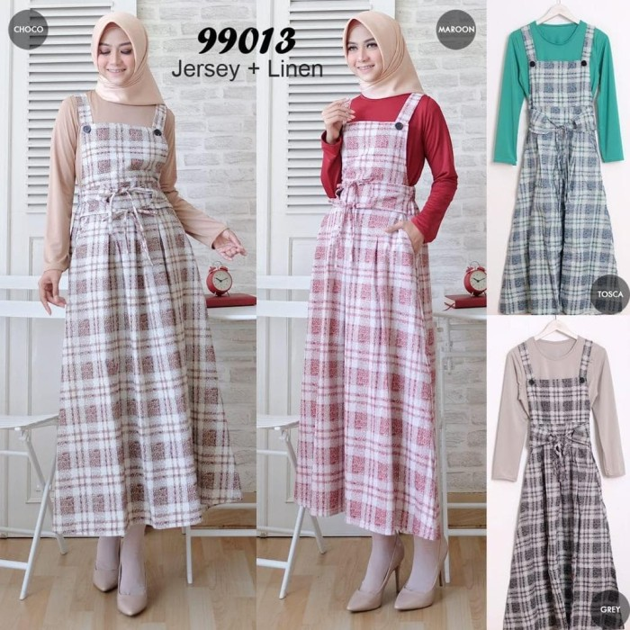 Jual Gamis Overall Gamis Fashion Gamis Import Gamis Linen 013 Jakarta Barat Oyiboutique Tokopedia