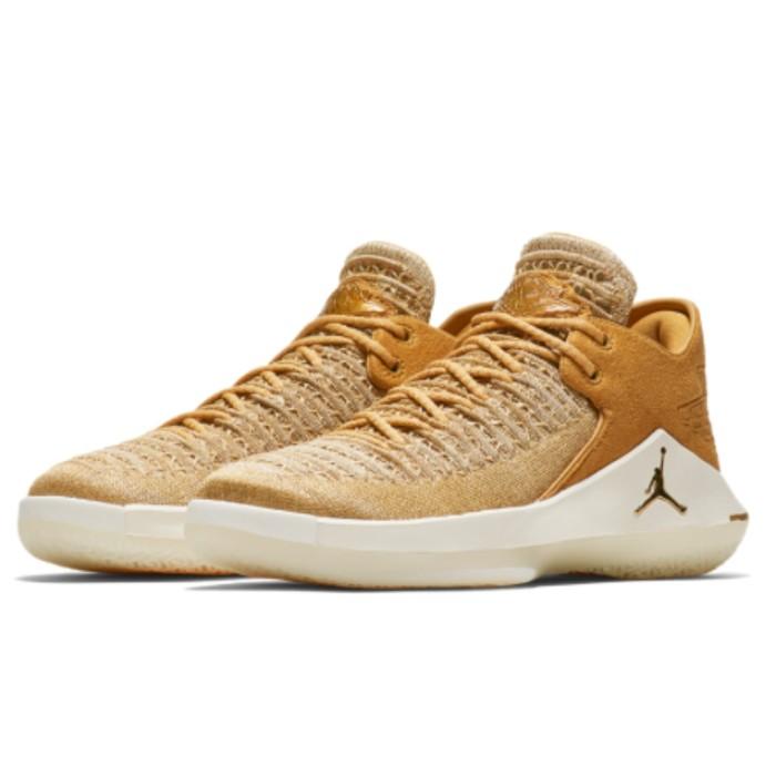 brand new e78fc 09962 Jual Sepatu Basket NIKE Jordan XXXII Low Gold Kids Women AA1257700 Original  - DKI Jakarta - Ice Hardware | Tokopedia