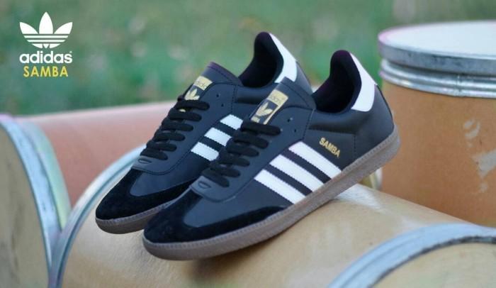 harga Sepatu casual pria adidas samba originl premium 3 warna 39-44 Tokopedia.com