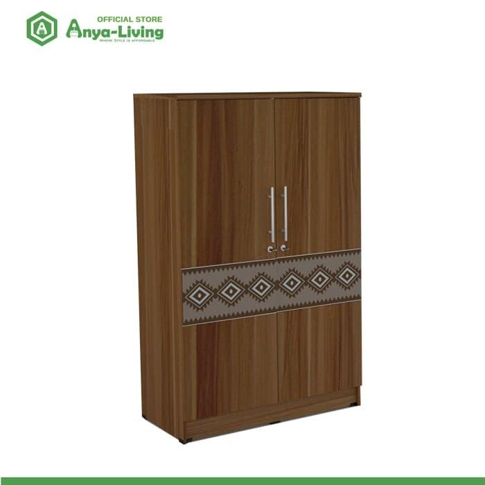 harga Anya-living lemari pakaian kecil borneo bl- french walnut Tokopedia.com