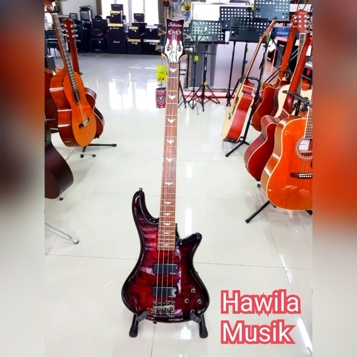 harga Guitar bass schecter demon-6 (gitar bass) Tokopedia.com
