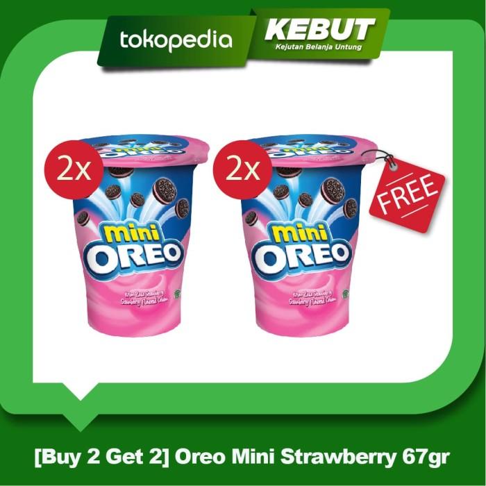 Buy 2 Get 2 - Oreo Mini Strawberry 67gr