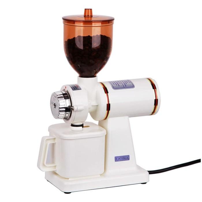 harga Latina 610n/gion gigi buaya coffee grinder gilingan kopi + 1kg arabika - cokelat Tokopedia.com