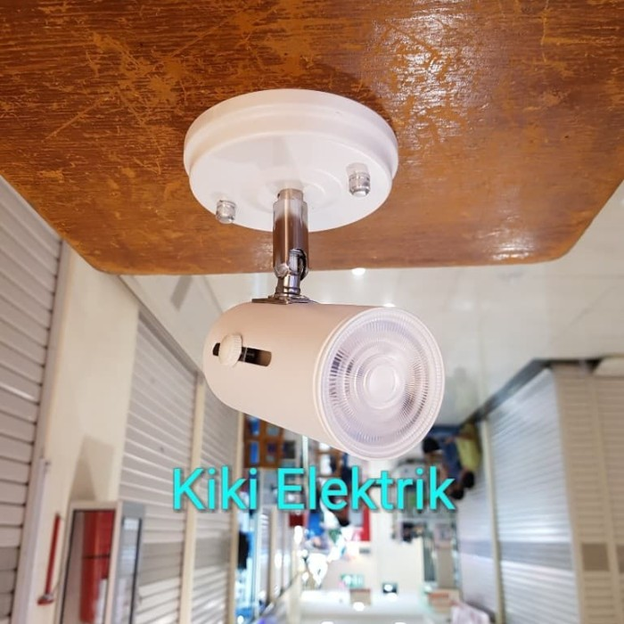 Foto Produk Lampu Sorot LED / Lampu Spot Light Putih MURAH !!! ( Plafon / E27 ) - Kuning dari Kiki Elektrik