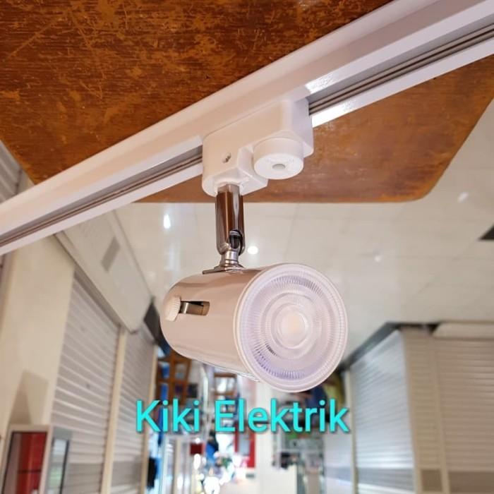 Foto Produk Lampu Sorot LED / Lampu Spot Light Putih MURAH !!! ( REL / Track E27 ) - Kuning dari Kiki Elektrik