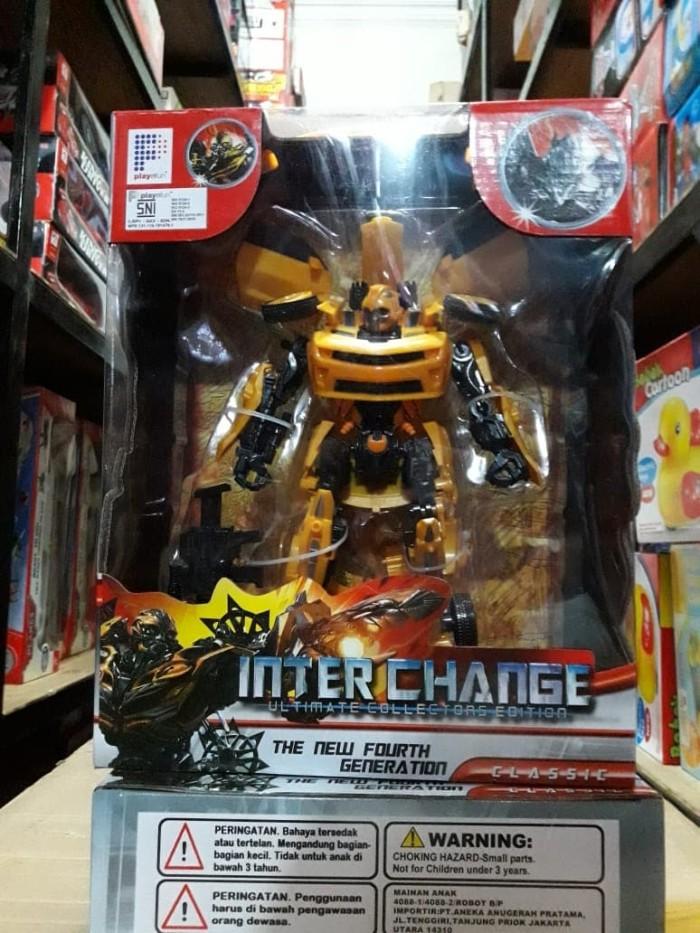 Foto Produk Robot Transformer Optimus Prime Bumblebee Autobot Inter Change 4088 dari SM Toys