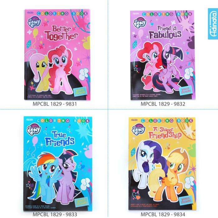 Jual My Little Pony Friend Coloring Book L Adinatabuku Mewarnai
