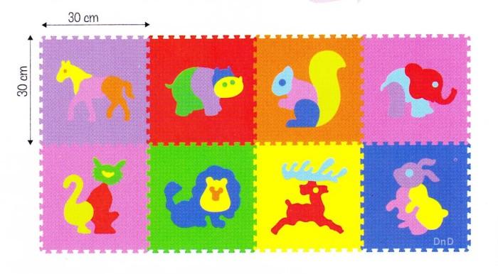 Foto Produk Mainan Anak - Matras Edukasi / Puzzle Evamat / Evamats / Hewan Animal dari Toko DnD