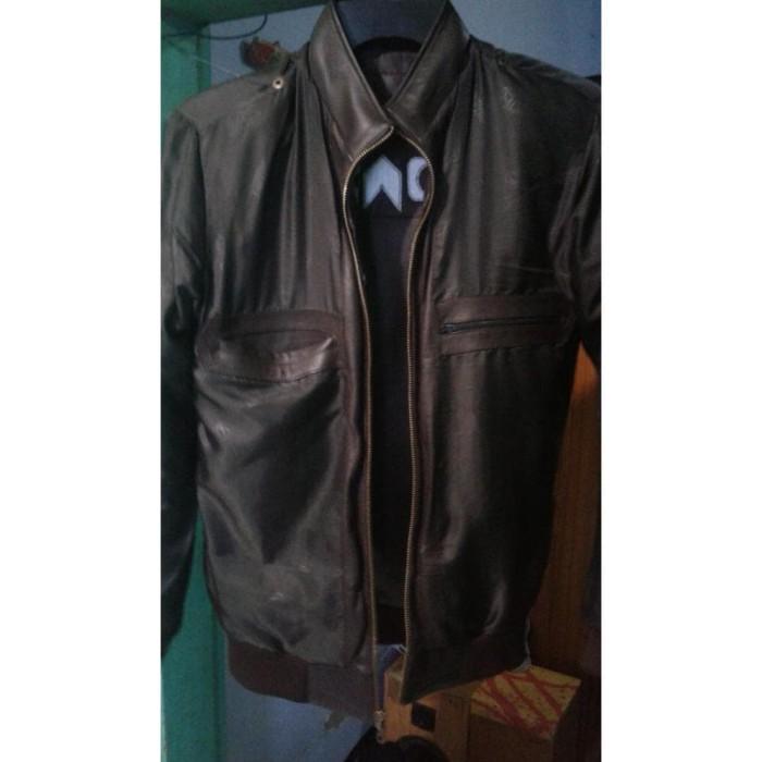 55 Model Jaket Kulit Kekinian Gratis Terbaru
