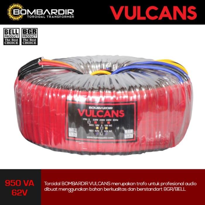 harga Trafo toroidal vulcans 950 va 62v ct- travo toroid travo donut bell Tokopedia.com