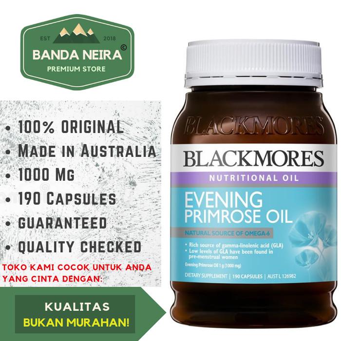 Blackmores Evening Primrose Oil 190 Kapsul 1000 Mg