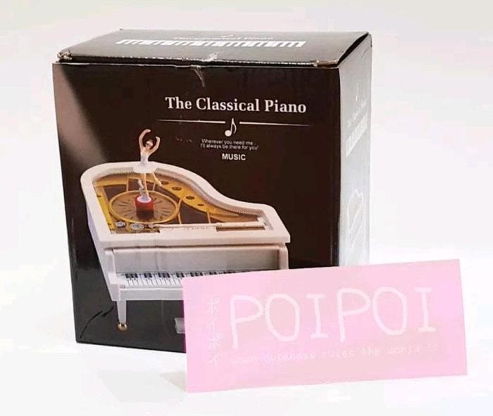 Kotak Musik Piano Music Box Piano Ballerina Music Box Piano Souvenirs