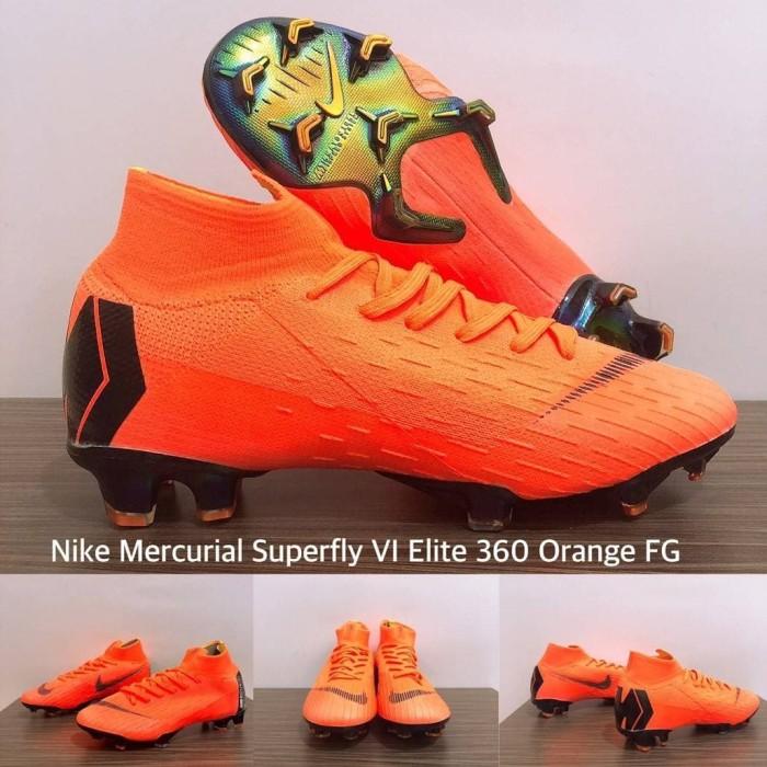 quite nice c7389 0544b Jual SEPATU BOLA NIKE MERCURIAL SUPERFLY VI ELITE 360 ORANGE FG - Kota  Batam - Sportsgear.id | Tokopedia